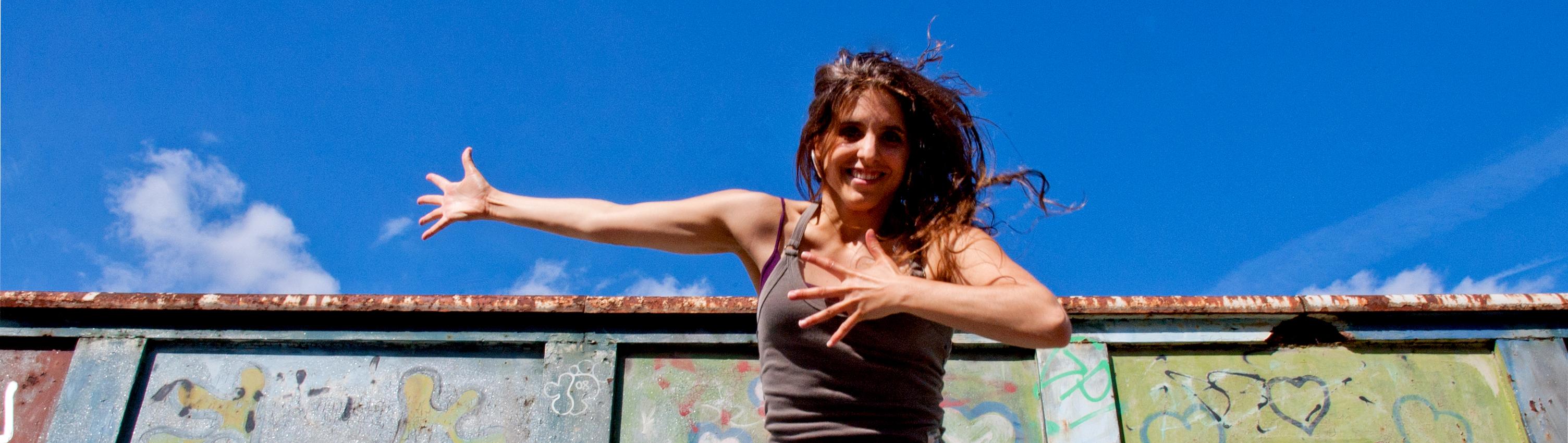Anna Llombart professora de claqué y percussió corporal