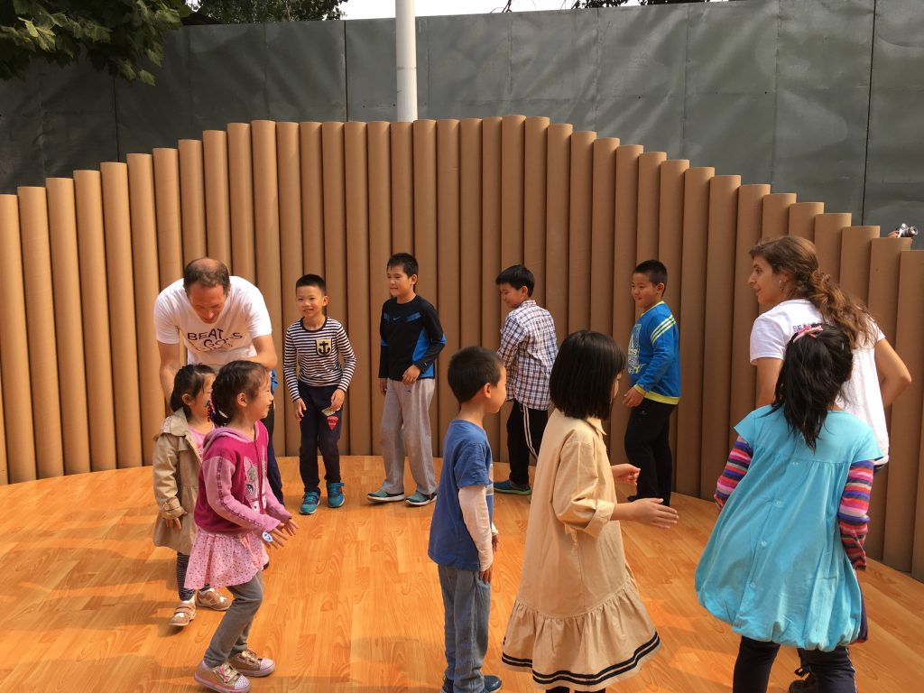 798 International Arts Festival for Children in Beijing colaborando con Beat Goes On