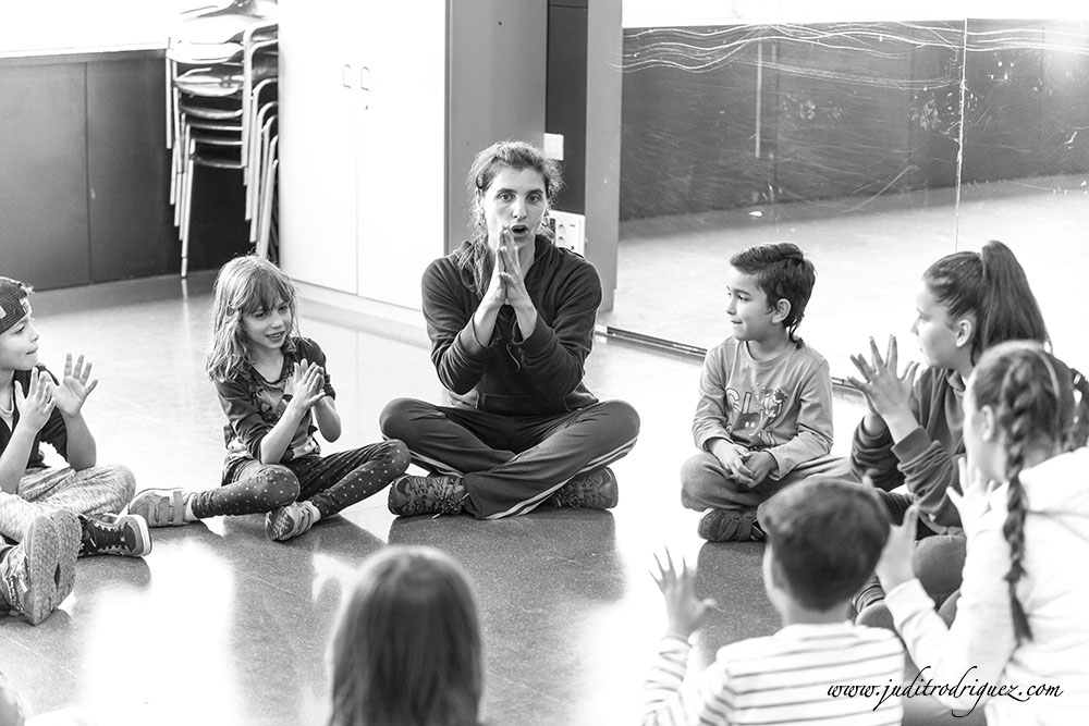 Workshop Infantil BodyPercussion B/N - Judit Rodríguez