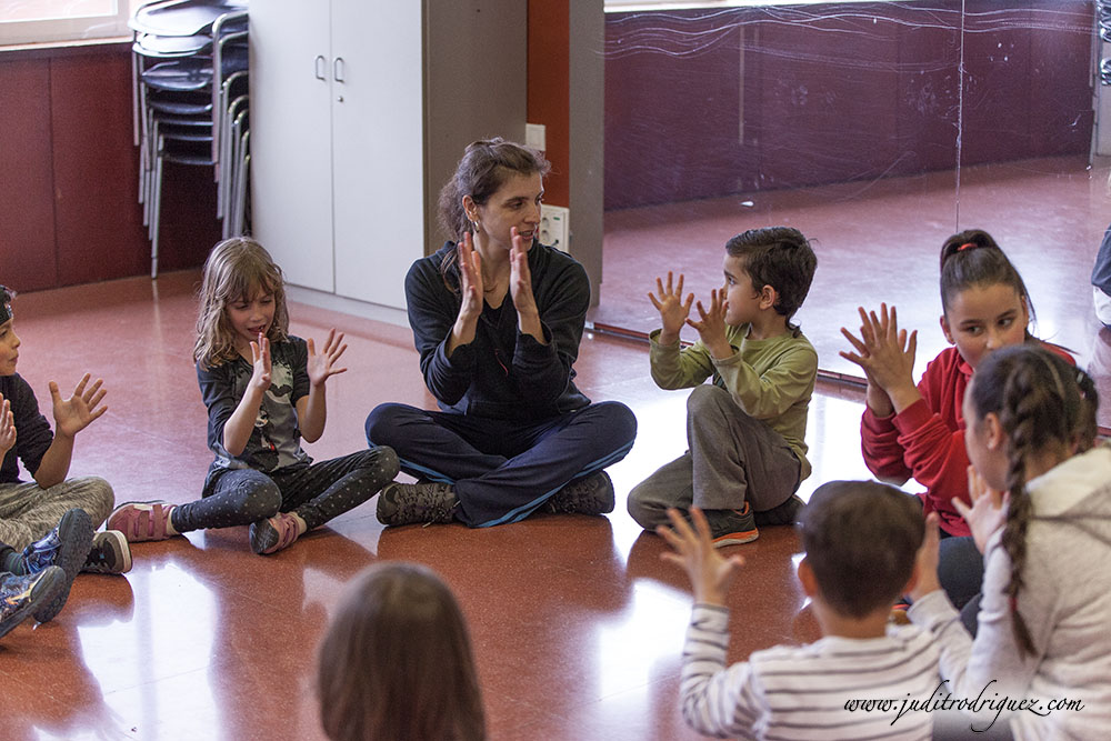 Workshop Infantil BodyPercussion - Judit Rodríguez