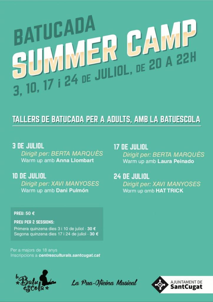 Cartel del Summer Bootcamp